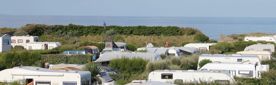 caravane camping car location normandie