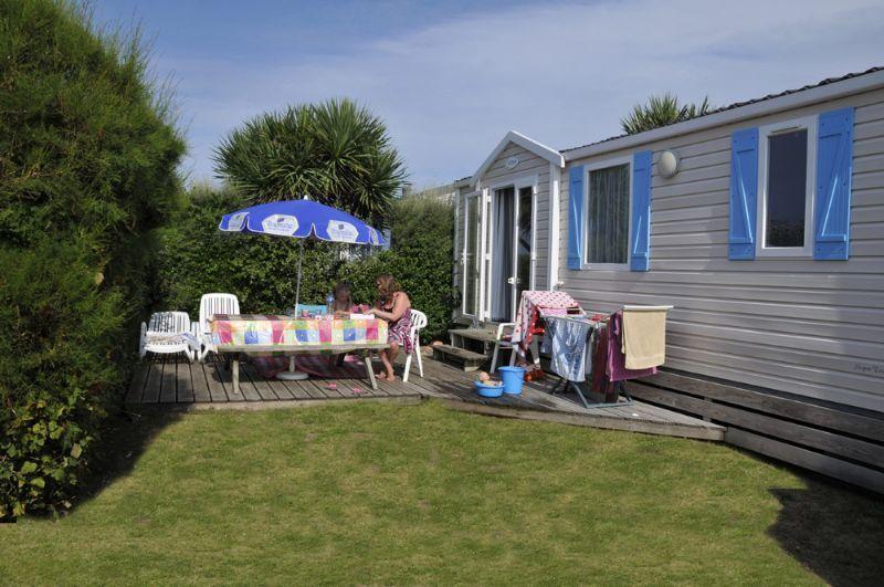 Camping Mobil Home Cotentin