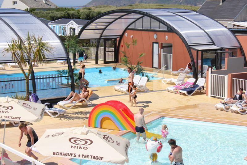 Camping normandie espace aquatique camping le grand - Camping normandie avec piscine couverte ...