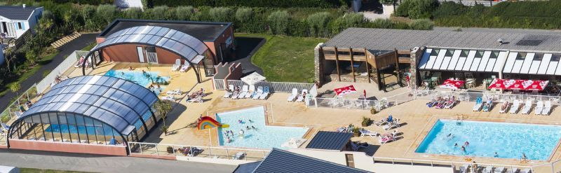 Camping normandie espace aquatique le grand large for Camping cabourg avec piscine