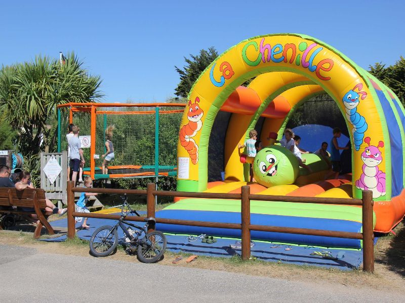 Camping Normandie  Camping Le Grand Large   Manche