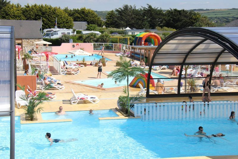 Camping normandie camping manche camping le grand large for Camping avec piscine normandie