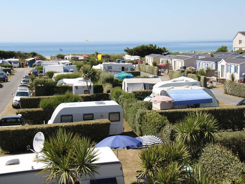 camping manche emplacements caravanes
