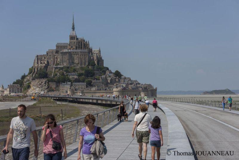 Wonderful Camping Manche, Sentier Du Mont Saint Michel