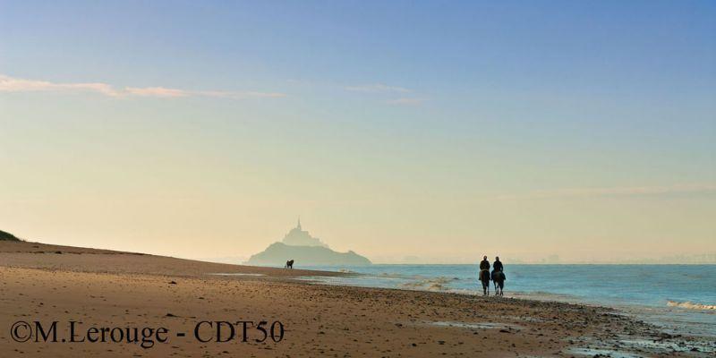 Campsite France Normandy, Vue De La Plage