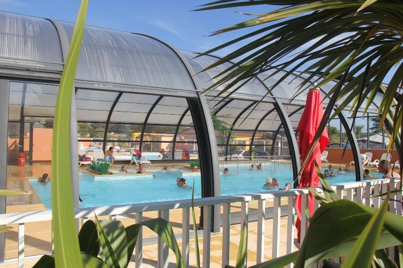 Camping Normandie Piscine Couverte Le Grand Large