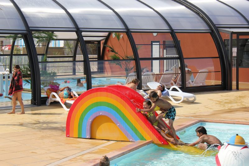 Camping Normandie Piscine Couverte  Camping Le Grand Large