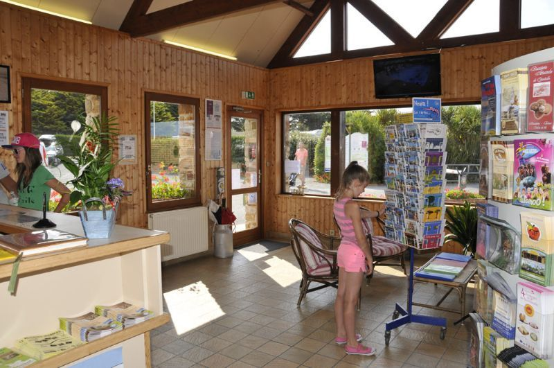 Campsite France Normandy Services  Camping Le Grand Large