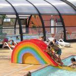 Camping Normandie, Piscine avec jeux enfants