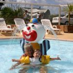 Campsite France Normandy, Clown cracheur