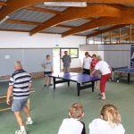 Camping Manche, Salle de ping pong