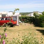 Camping Normandie, Emplacement camping pour caravane