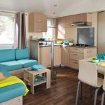 Camping Frankrijk Normandie, Salon du Cottage
