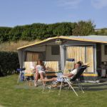 Campsite France Normandy, Emplacements camping car