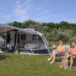 Campingplatz Frankreich Normandie, Emplacement pour caravane