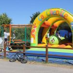 Camping Manche, Jeux gonflable et Trampoline