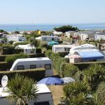 Campsite France Normandy, Emplacements caravanes