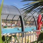 Camping Normandie, Piscine couverte du camping