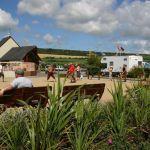 Camping Normandie, terrain de pétanque
