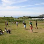 Camping Normandie, tournoi de volley