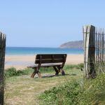 Camping Normandie, vue sur la mer