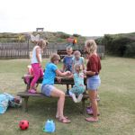 Camping Manche, Jeux d'équipe avec les enfants