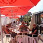 Camping Normandie, terasse le Grand Large
