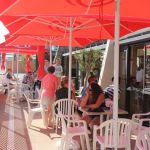 Camping Manche, terrasse le Grand Large