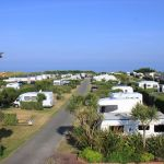 Campsite France Normandy, ciel normand