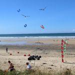 Camping Manche, plage et cerf volant