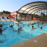 Camping Normandie, aquagym