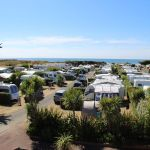 Camping Manche, vue du camping