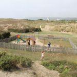 Camping Normandie, aire de jeux enfants