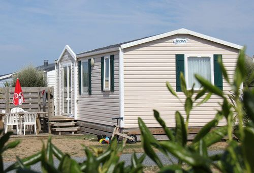 cottage 2 bedrooms Normandy coast campsite